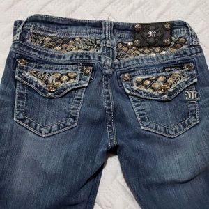 Miss Me girls size 14 boot cut jeans